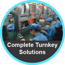 Complete Turnkey Assembly from Tekelek Asia